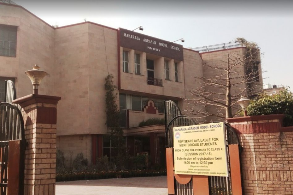 Maharaja agrasen model school picture